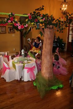 Fairytale birthday parties