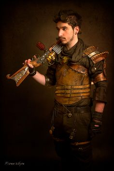 Steampunk Soldier by François R. Whyte on 500px