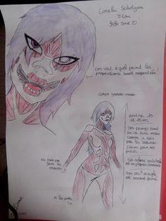 Shingeki no Kyojin - O.C Titan form of my character on a Attack on Titan RPG