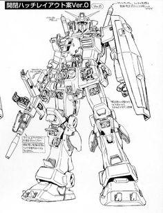Japanese Robot, Japanese Cartoon, Mechanical Art, Mechanical Design, Mecha Suit, Cartoon Tattoos, Gundam Art, Custom Gundam, Robot Design