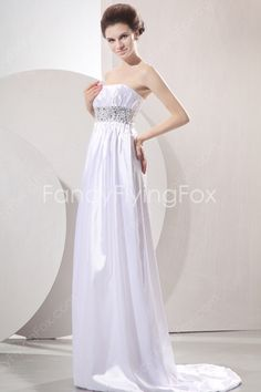 fancyflyingfox.com Offers High Quality Dazzling Strapless Neckline Empire Full Length Maternity Wedding Dresses With Diamonds  ,Priced At Only US$189.00 (Free Shipping)