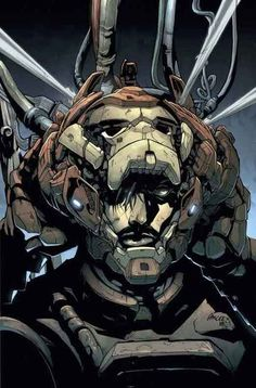 Pat Lee - Iron Man