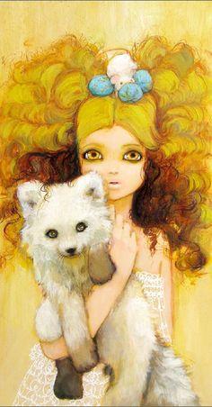 """""""Fox Hime"""" by Camilla d'Errico"""