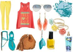 Summer♥, created by demigalindo on Polyvore
