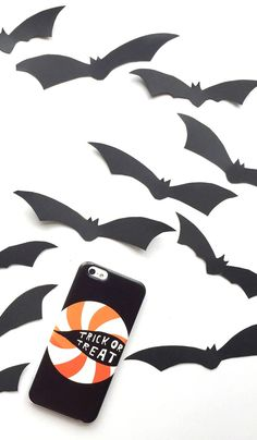 Trick or Treat phone Case! Available for iPhone 6, iPhone 6 Plus, iPhone 5/5s, Samsung Cases and many more. Perfect holiday gift idea