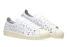 official photos 28f9d 5db35 This adidas Superstar For Women Features Cut-Out Uppers. Sneaker Diva