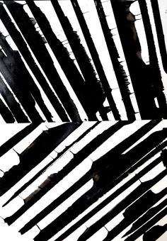 black and white abstract brush stroke pattern