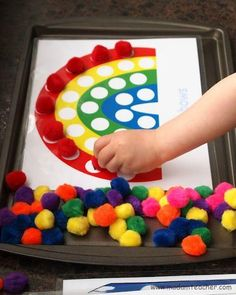 Printables for pom pom activities for kids kids-crafts Kids Crafts, Craft Activities For Kids, Toddler Crafts, Preschool Activities, Motor Activities, Cookie Sheet Activities, Wood Crafts, Activity Ideas, Day Care Activities
