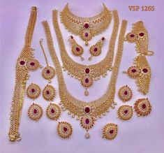 Sona Export - Offering Gold Polish Brass Indian Bridal Jewelry Sets at Rs in Mumbai, Maharashtra. Gold Bridal Jewellery Sets, South Indian Bridal Jewellery, Bridal Necklace Set, Indian Jewelry Sets, Silver Jewellery Indian, Indian Wedding Jewelry, Wedding Jewelry Sets, Marriage Jewellery Set, Gold Jewellery