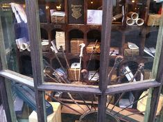 """Ollivanders Wand Shop is one of the most exciting places to visit in Universal Wizarding World of Harry Potter :: :: The """"wand display"""" is like a Giant Tinker Wheel (Tinker Toys:) remember those!:) ~jjl"""