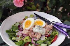 Gå ner i vikt med 5:2 dieten - Tasteline.com Keto, Lchf, Zucchini, 5 2 Diet, Cobb Salad, Salads, Beverages, Brunch, Food And Drink