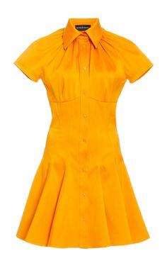 Taffeta Dress, Satin Dresses, Crepe Dress, Silk Dress, Women's Dresses, Short Dresses, Velvet Gown, Brandon Maxwell, Mini Shirt Dress