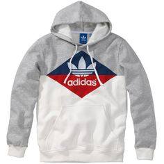 Adidas Originals Hoody ($77) ❤ liked on Polyvore featuring men\'s fashion, men\'s clothing, men\'s hoodies, hoodies, sweaters, tops, mens hoodies, mens sweatshirts and hoodies and adidas mens hoodies