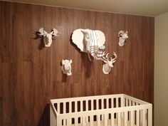 Wood wall complete with all animals!