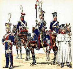 Napoleon.org.pl - Gwardia Cesarska - 1 Pułk Szwoleżerów-Lansjerów