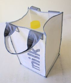 bags made from recycling plastic bags