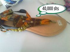 African open shoes
