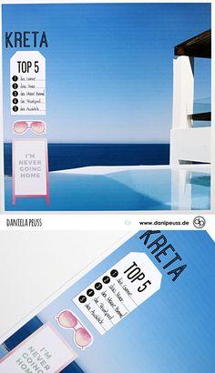 Kreta Top 5 | Layout mit dem Julikit | von Dani für www.danipeuss.de