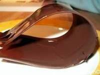 Rubans en chocolat - Comment faire des rubans en chocolat