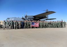 Members of the 16th Special Operations Squadron flew the final AC-130H Spectre gunship mission at Cannon Air Force Base, N.M., Jan. 16.  The AC-130 development began in the early 1960s, and the gunships were credited with many life-saving close air support missions in the Vietnam War.