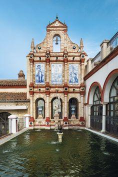 El Palacio de San Benito, Cazalla de la Sierra , Sevilla , España