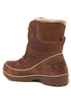 Sorel - Tivoli Ii™ Premium Waterproof Textured-leather Boots - Brown - US5.5