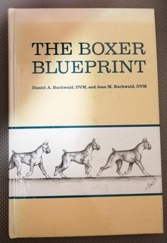 Buy The Boxer Blueprint by Daniel A Buchwald. First Edition. 1990 for Animal Books, Kinds Of Music, Survival Tips, Listening To Music, Boxer, Finding Yourself, Animals, Vintage, Animales