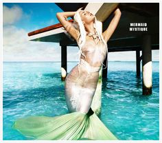 Vogue India May 2012 Fashion Shot #mermaid #KendraScott