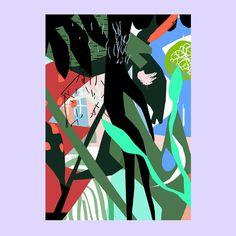 © Kristin Berg Johnsen Happy Friday, Contemporary Art, Comic Books, Colours, Comics, Abstract, Instagram Posts, Summary, Cartoons