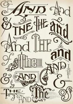 And Typography