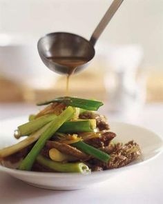 Kylie Kwong's stir-fried beef with oyster sauce