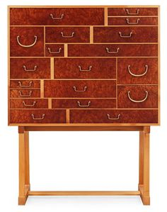 A Josef Frank 'National Museum' cabinet, Svenskt Tenn, model 881.