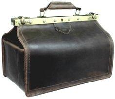 DELARA Doctor's Bag Saddle Leather: Amazon.co.uk: Shoes & Accessories