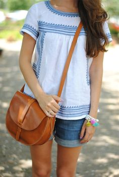 Perfect summer casual look jean shorts, summer casual, summer looks, casual tops, casual summer, vacation outfits, summer outfits, casual outfit summer, casual looks
