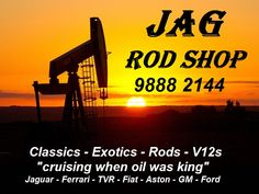 Jaguar repairs, service, restoration, parts at the JAG ROD SHOP.