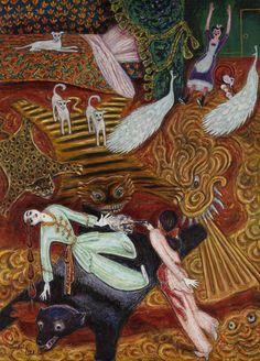 """""""Crime passionnel"""", 1921 Nils Dardel"""