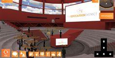CONFERENCIA ONLINE  DE VIRTWAY SOBRE LOS MUNDOS VIRTUALES 3D EN LA EDUCACIÓN IMPARTIDA POR LA UNIVERSIDAD REY JUAN CARLOS