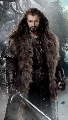 The Path to Greatness: Richard Armitage as Thorin Oakenshield in The Hobbit, An Unexpected Journey, The Hobbit: Desolation of Smaug, The Hobbit, The Battle of Five Armies.