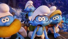 Watch A Little Girl Drop An F-Bomb Because She's Excited About The Smurfs #FansnStars