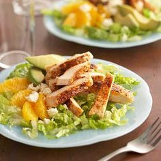 These flavorful, family-friendly chicken recipes will fit fabulously into your diabetes meal plan. Bonus: Chicken is low in fat, carbs, and calories!