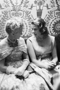 Ingrid Bergman w/ Hedda Hopper