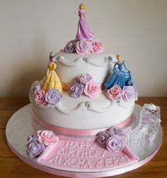 character cakes for girls - Birthday