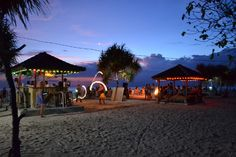 Sunset bar @ Gili Trawangan