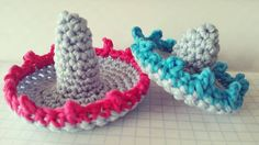 "homemadeatmyplace An ""OLE'"" good morning my dear friends!!! Just experimenting with little sombreros for something useful and nice!!!  enjoy your Thursday!!! Inspiration from ""mini sombrero crochet"" by Lauren @laurendaisycottage   #crochet #crochetfun #crochetgirlgang #crochetconcupiscence #keepcrochetfabulous #uncinetto #ganchillo #haken #virka #crochetlove #lovecrochet #crochetaddict #igcrochet #instacrochet #sombrero #crochetsombrero"