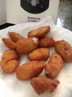 Una deliciosa receta de croquetas de cocido para #Mycook http://www.mycook.es/receta/croquetas-de-cocido/
