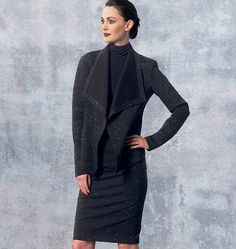 V1465, Misses' Jacket, Skirt and Top   MAKE IT LONGER FOR ANOTHER GREAT LOOK!!