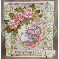 Heartfelt Creations - Rose Shaped Dogwood Floral Project