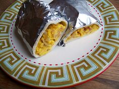 Freeze-ahead breakfast burritos