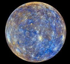 Brand new pictures taken by Nasa have shown off the planet Mercury in never-before-seen glamour. For the first time, Nasa have been able to create a three-dimensional map of the surface of the planet,. Cosmos, Space Photos, Space Images, Space And Astronomy, Hubble Space, Astronomy Science, Space Planets, Our Solar System, Outer Space