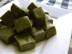 Green Tea Butter Caramels - I wonder if these are good
